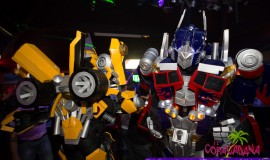 BE LIGHT TRANSFORMERS – BUMBLE BEE & OPTIMUS PRIME – 2014 –