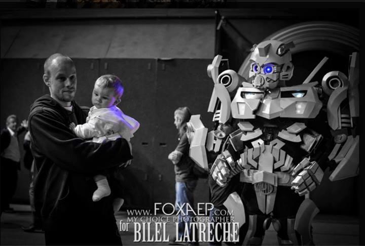 Bilel Latreche Bumble Bee Transformer Be light Robots leds Robot Led Dijon-5