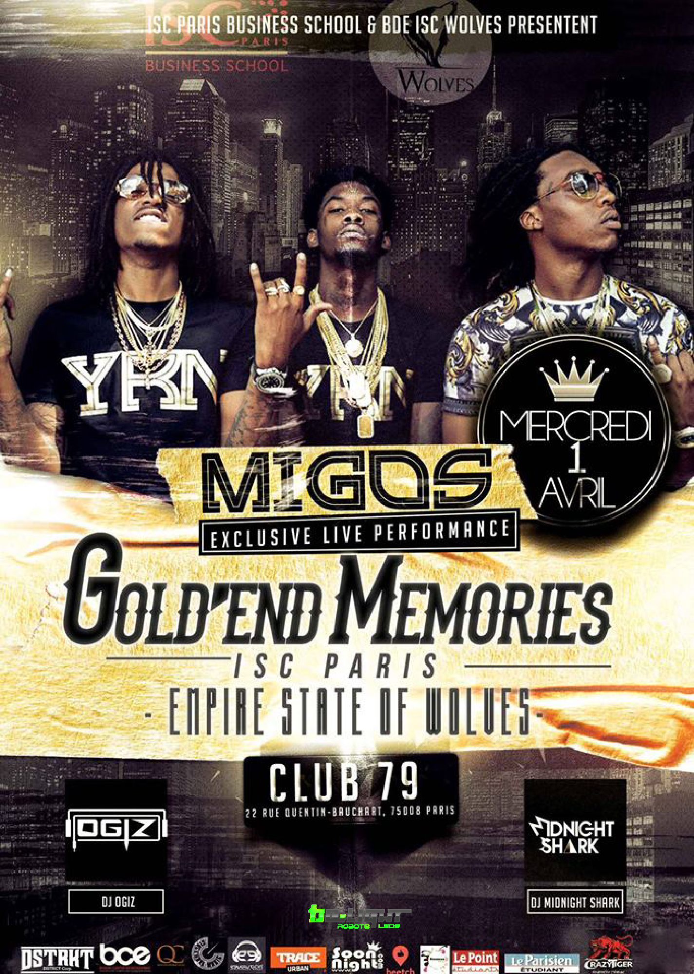 migos affiche be light