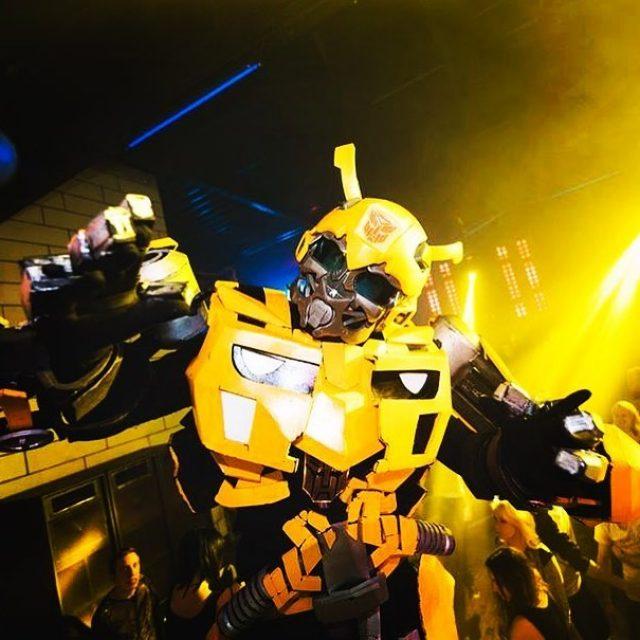 wwwbelightfr bumblebee performer belight belightrobot belightperformer transformers camaro