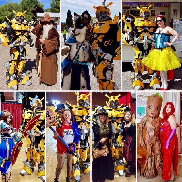 wwwbelightfr feerika belighttransformers belightrobot belight cosplay belightperformer harleyquinn groot merlinhellip